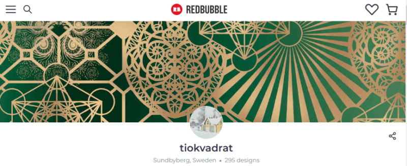 Tiokvadrat Redbubble Shop